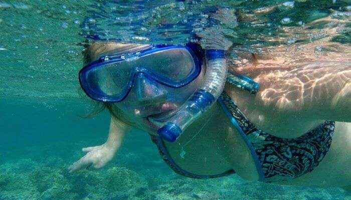 Snorkeling At Agatti