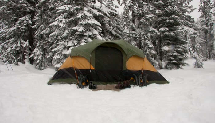 Snow Trail Camping