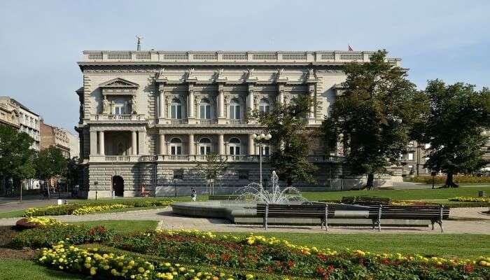 building in Serbia