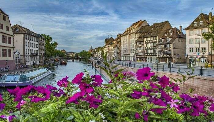 Strasbourg in France