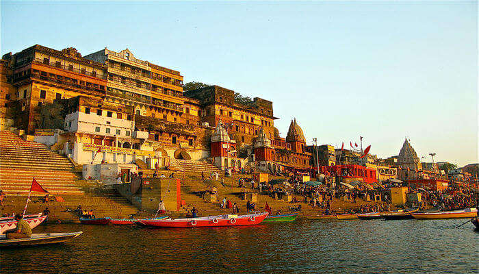 Ganges Ghats View