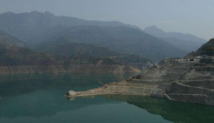 Tehri Lake in Kanatal