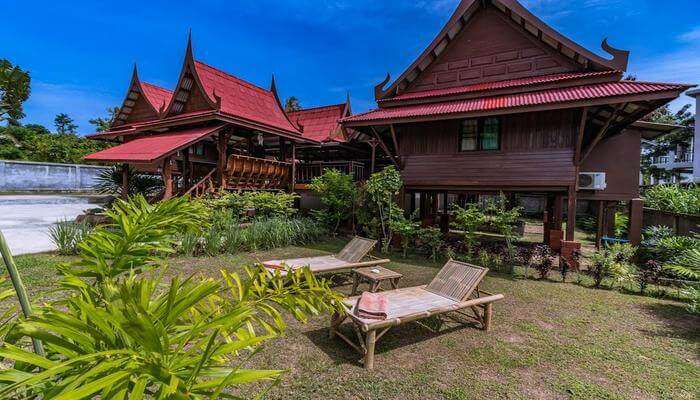 one of the magnificent homestays in the Koi Samui district