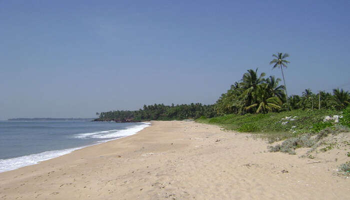 Beautiful Thottada Beach in Alleppey