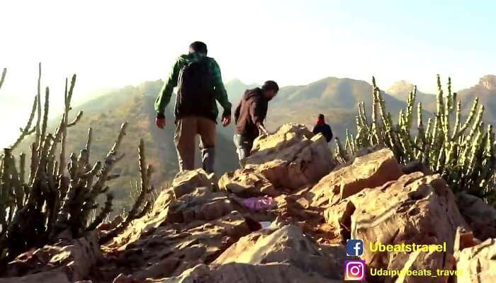 Trekking in Udaipur