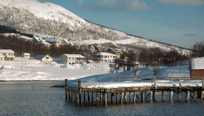 Tromso Fjords In Tromso