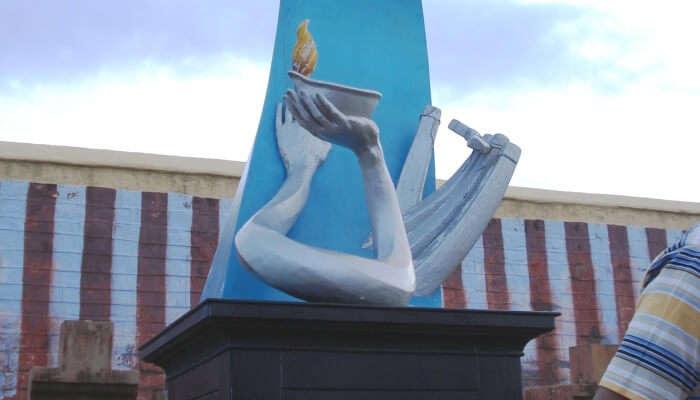 memorial for Tsunami victims