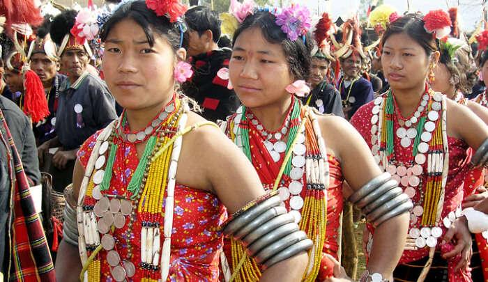 Festival of Sumi Tribe