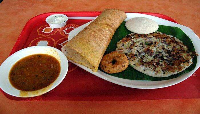 Feast On Sumptuous South Indian Food
