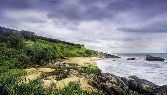 View of Vallikunnu Beach