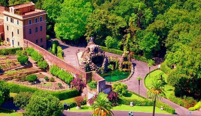 most beautiful gardens in Rom