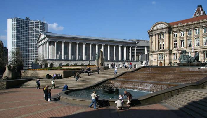 Victoria Square And Birmingham City Centre