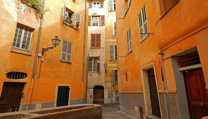 Vieux Nice's view