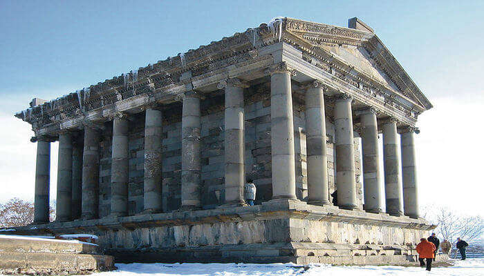 Visit the Classic Temple in Garni