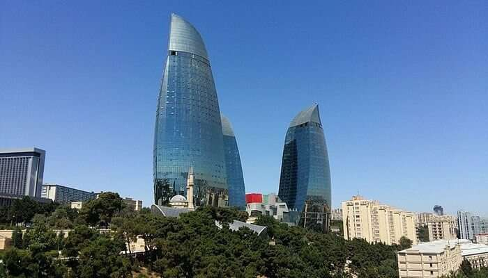 Visit the Most Astonishing Flame Towers