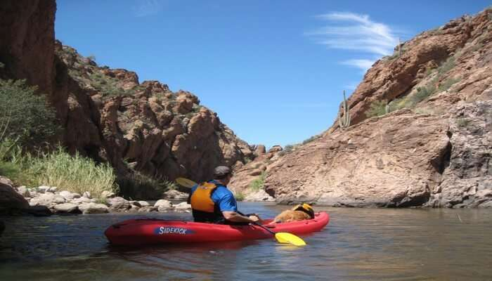 Wadi Adventure Kayaking