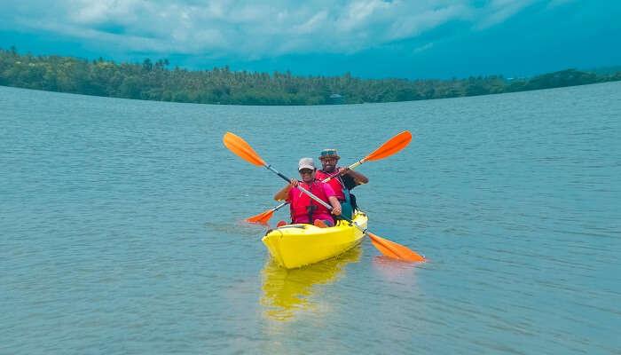 Water Sports At Umiam Lake