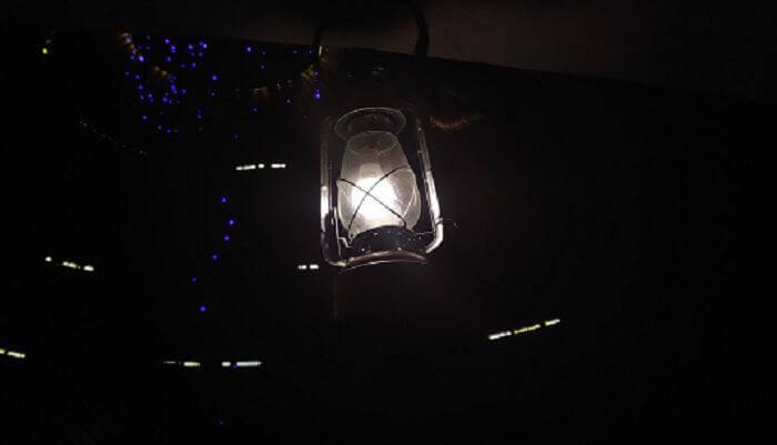 A Lantern At Night