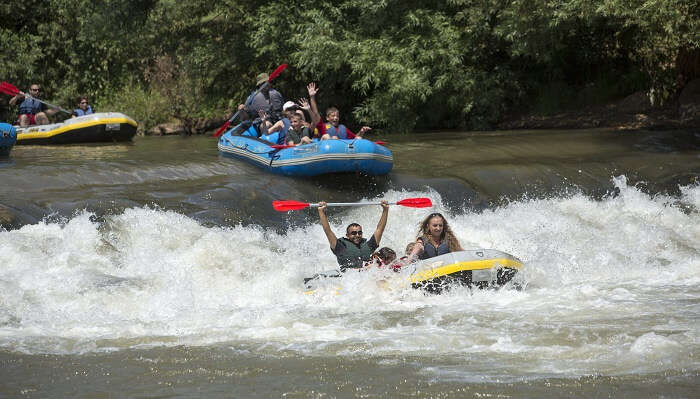WHITE WATER RAFTING IN GALILEE