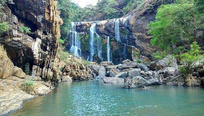 Yellapur waterfall