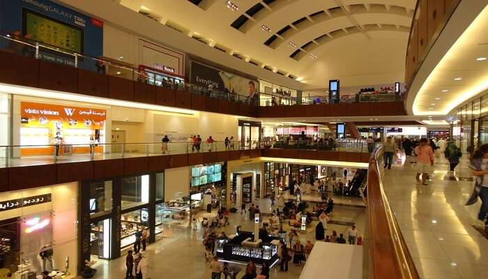 View of Dubai Mall