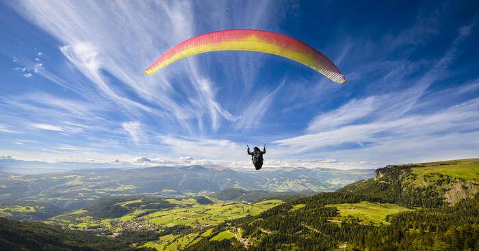 Adventurous Paragliding In Mcleodganj