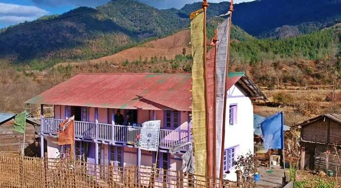 Redberry riverview homestay arunachal