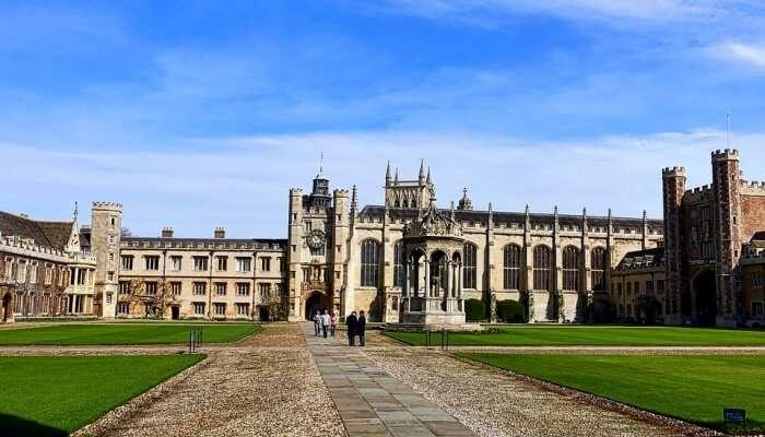 Cambridge University campus