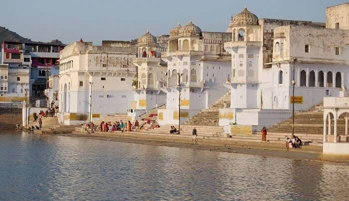 ghats in pushkar