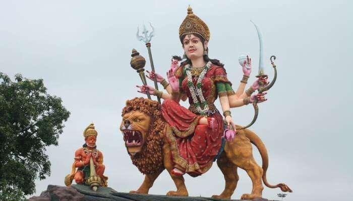 idol of goddess