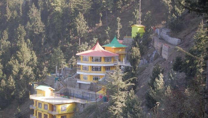 amusement park on hills