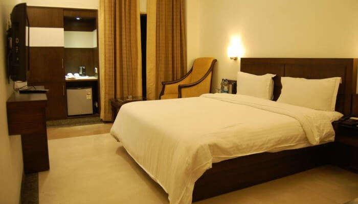 bedroom in a resort