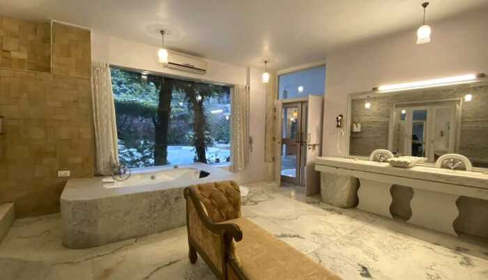 luxurious bathroom in dream villa