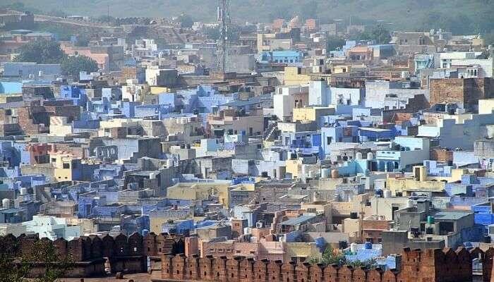aerial view jodhpur