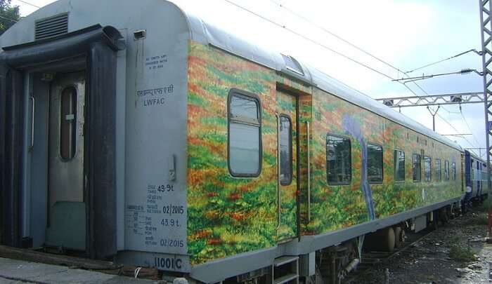 train is very comfort to the travelers