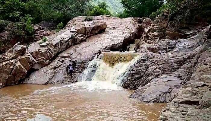 Amirthi Zoological Waterfall