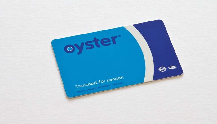 An Oyster Card In London