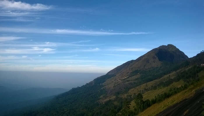 A glorious view of the Anumadi Peak in Munnar