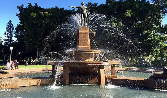 fountain in sydney