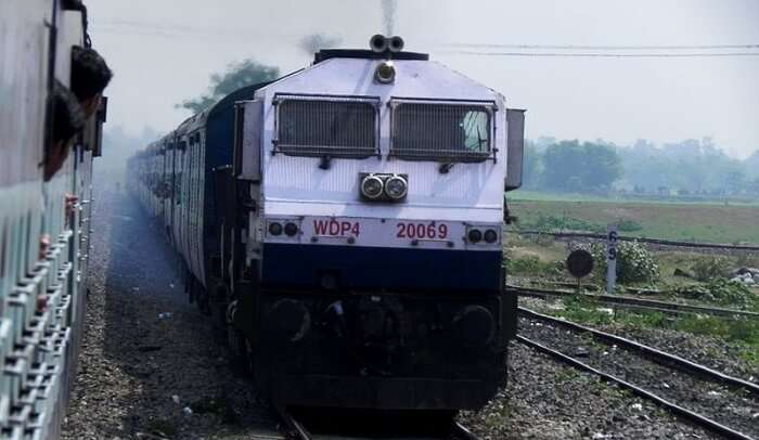 the longest daily running train in India