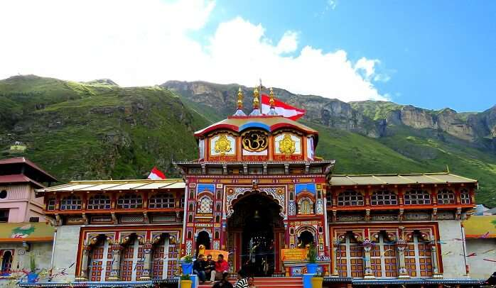 Badrinath Temple is quite sacred among the Hindu people
