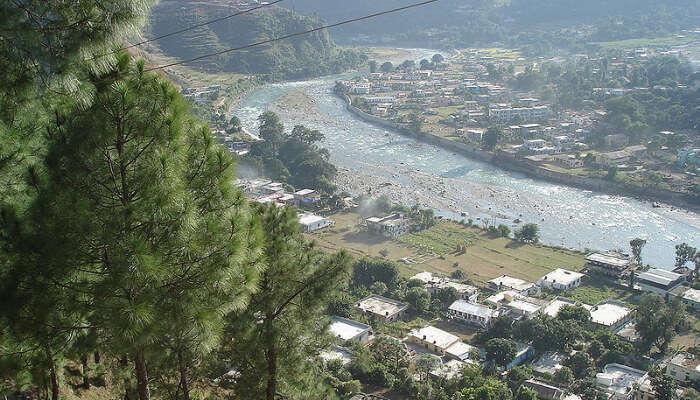 Bageshwar Aerial View