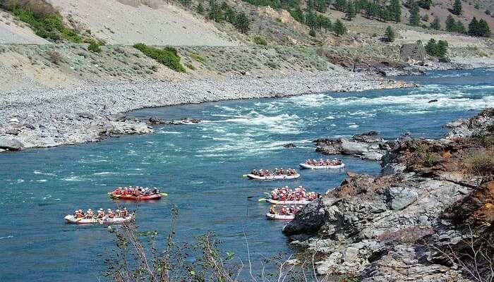 Barapole River View