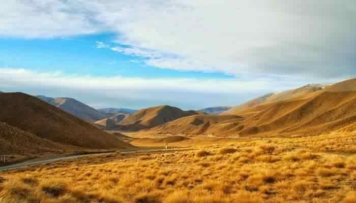 Amazing Barren Hills