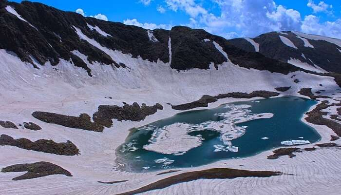 Beauty Of The Alpather Lake, Gulmarg