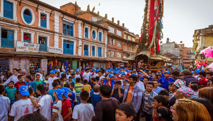 Nepal celebrates a number of festivals