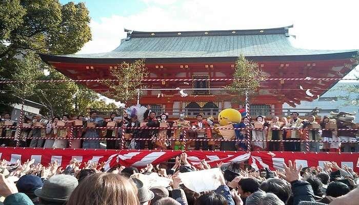 people gathering
