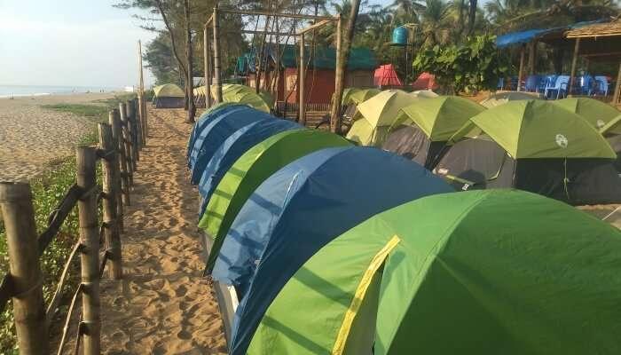 best camping in Gokarna