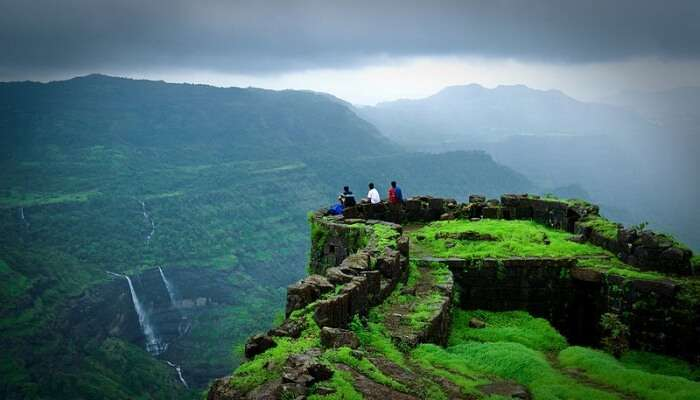 Beauty Of The Rajmachi Point, Lonavala