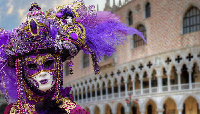 Best Mask Contest - Venice Carnival